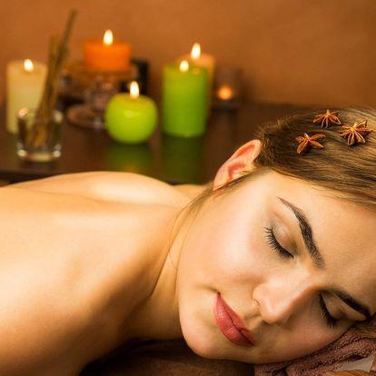Skořicová relaxační masáž: 30 nebo 60 minut uvolnění