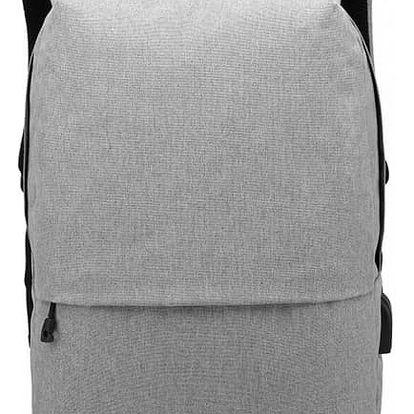 Dámský šedý batoh Karley 6891