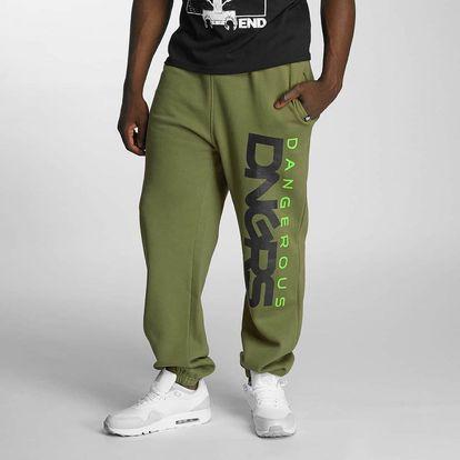 Dangerous DNGRS / Sweat Pant Classic in khaki M