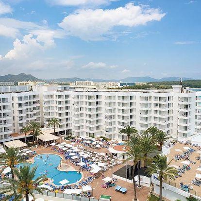 Španělsko - Mallorca na 9 dní, all inclusive s dopravou letecky z Brna 25 m od pláže