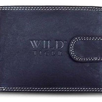 AKCE! Elegantní pánská peněženka WILD Barva: Černá