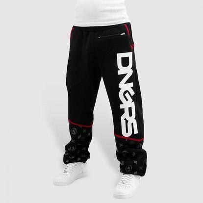 Dangerous DNGRS / Sweat Pant Crosshair Sweat Pants in black XXXXXXL