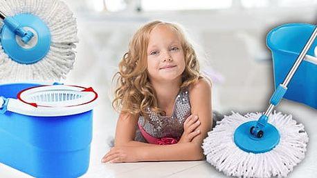 TIP! Rotační mop s hlavicí z mikrovlákna - pomocník do každé domácnosti