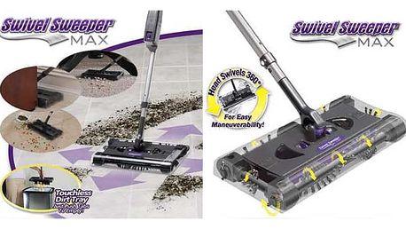 AKCE! Bezdrátový elektrický mop Swivel Sweeper Max