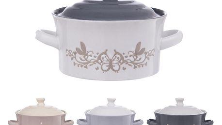 Orion Sada polévkových misek s poklicí, 450 ml, 4 ks