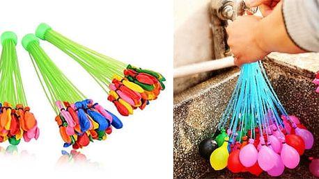 AKCE! Vodní bomby - balonky (33 nebo 111 kusů) Počet kusů: 33 balónků (1 malá sada)