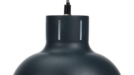 Home Styling Collection Kovové stropní svítidlo - šedá barva