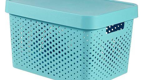 Curver úložný box Infinity 17 l, modrá