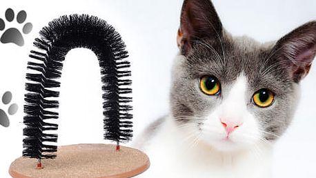 TIP! Masážní kartáč pro kočky - i ta vaše ho bude milovat!