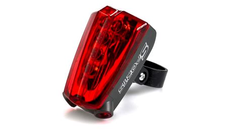TIP! LED světlo s laserem - Na kolo nebo motorku