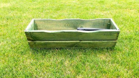 Tradgard 2688 Zahradní květináč truhlík 64 cm zelený