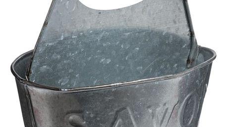 Secret de Gourmet Kuchyňská sada pro mytí nádobí CAFE PARIS kovový kontejner, nádobí na příbory
