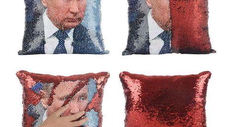 Povlak na polštář s Putinem nebo Trumpem