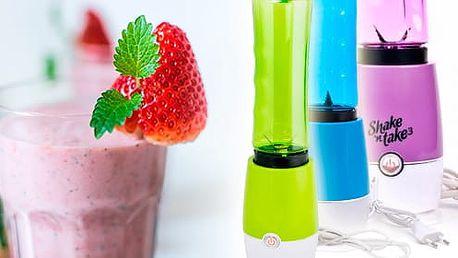 TIP! Smoothie Maker - mixér na ovoce a zeleninu Barva: Zelená