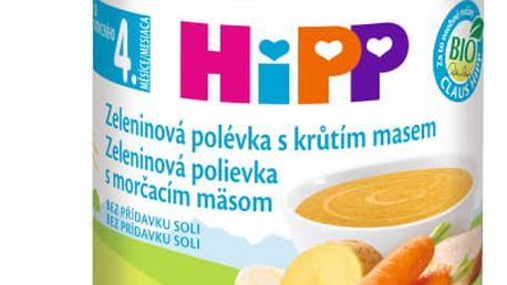 6x HIPP BIO Zeleninová polévka s krůtím masem (190 g)