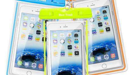 TIP! Voděodolné pouzdro na mobil
