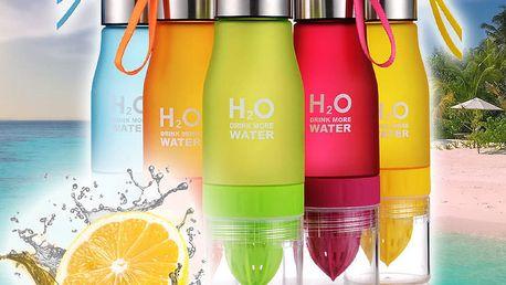 H2O Láhev s odšťavňovačem 650ml