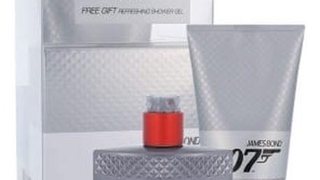 James Bond 007 Quantum dárková kazeta pro muže toaletní voda 50 ml + sprchový gel 150 ml