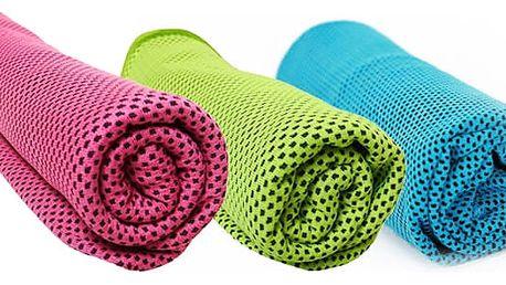 TIP! Chladící ručník 90x32 cm Barva: Růžový