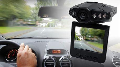 TIP! HD kamera do auta - blackbox, černá skříňka pro záznam jízdy