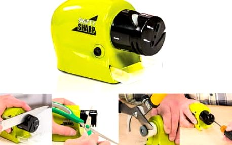 TIP! Elektrický brousek na nože - naostří vaše nože i nůžky