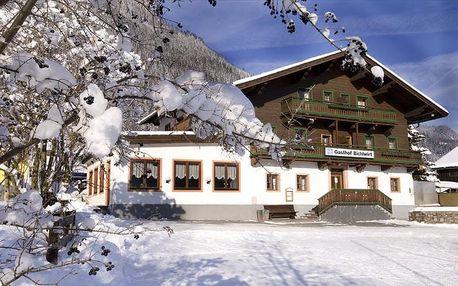Rakousko - Saalbach / Hinterglemm na 4 až 6 dní, snídaně s dopravou vlastní