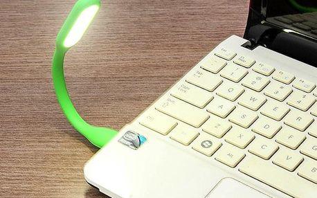 TIP! USB Lampička - barevná Barva: Červená