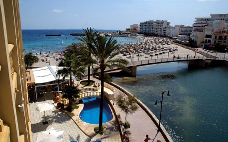 Španělsko - Mallorca na 9 dní, all inclusive s dopravou letecky z Brna 10 m od pláže
