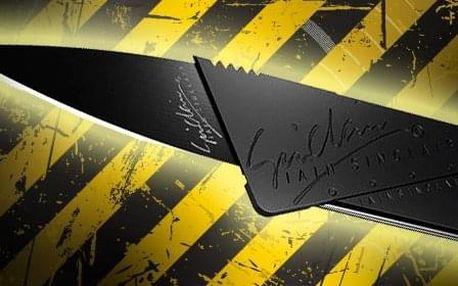AKCE! Vychytávky do peněženky - nůž nebo multifunkční karta 18v1 Typ: Nůž v kreditce