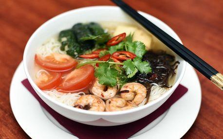 Vietnamská restaurace Chopstix - 3-chodové asijské menu pro dva