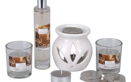 Sada svíček a aromalampy Aromatico Mellow Moment, 10 ks