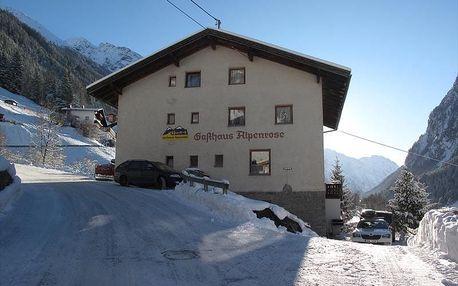 Rakousko - Pitztal na 3 až 7 dní, polopenze s dopravou vlastní