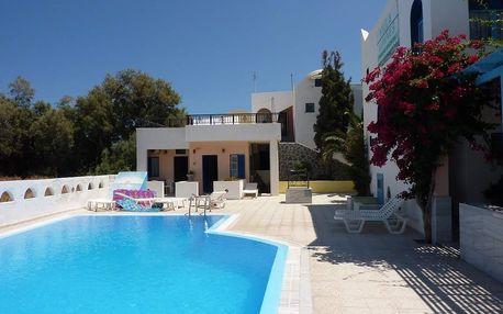Řecko - Santorini na 15 dní, bez stravy s dopravou letecky z Prahy 80 m od pláže