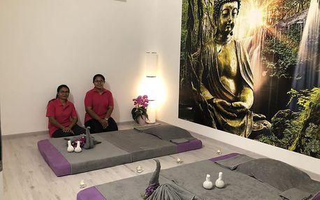 Thajská masáž dle výběru od certifikovaných Thajek až na 120 min.