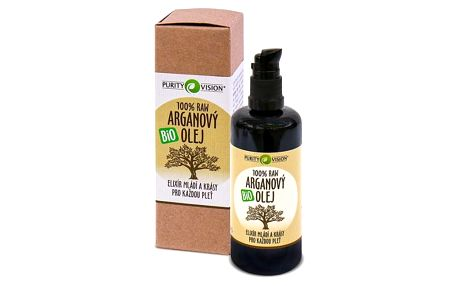 PURITY VISION Raw arganový olej Bio 100ml