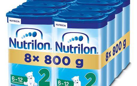 8x NUTRILON 2 (800g) - kojenecké mléko