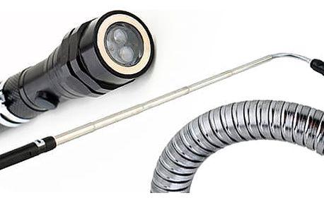 AKCE! Teleskopická svítilna s magnetem