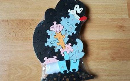 TIP! Dřevěné puzzle 7 druhů