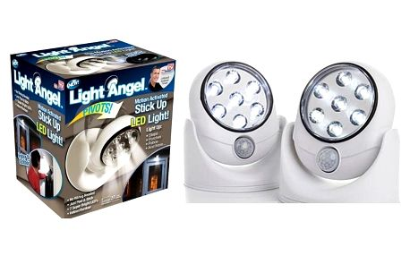 AKCE! Light Angel - bezdrátové venkovní světlo s čidlem
