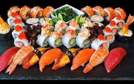 Gurmánské sushi sety restauraci Sakura Sushi