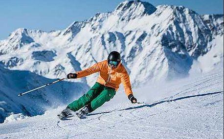 Nádherné lyžování v alpách jižního Tyrolska s wellnessem ve 4* hotelu
