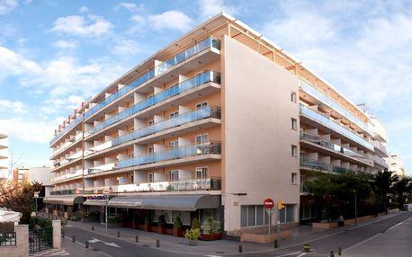 Španělsko - Costa Brava na 8 dní, plná penze, polopenze, snídaně nebo bez stravy s dopravou letecky z Prahy 350 m od pláže