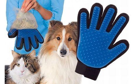 TIP! Vyčesávací rukavice pro vaše mazlíčky