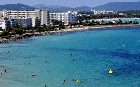 Španělsko - Mallorca na 9 dní, all inclusive nebo polopenze s dopravou letecky z Brna přímo na pláži