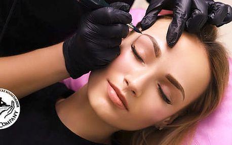 Permanentní make-up: linky, obočí, rty na Praze 7