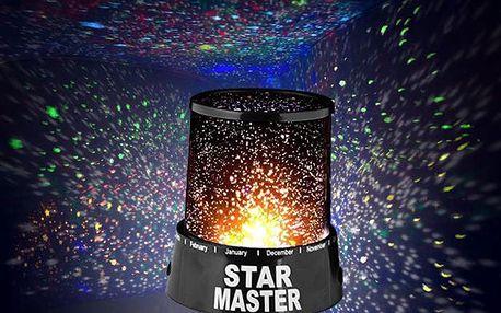 AKCE! Projektor noční oblohy (STAR MASTER)