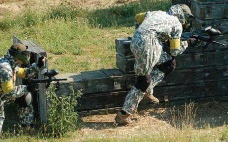Vojenský výcvik v army parku