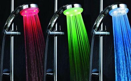 TIP! LED sprchová hlavice měnící barvy do sprchy