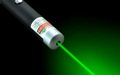 TIP! Zelený laser - ukazovátko green pointer