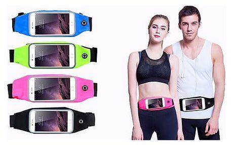 AKCE! Pouzdro na mobil pro sportovce (do pasu) Barva: Růžová